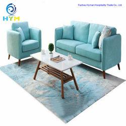 Ocio moderno salón Muebles de sofá de tela