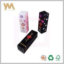 Design de diversos tamanhos flexíveis de Batom Caixa de embalagem de papel com impressão personalizada