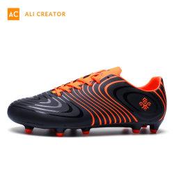 人のための2019の新しい3D印刷のフットボールのトレーニングのスポーツの靴