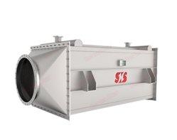 Scambiatore di calore a temperatura elevata del piatto del Economizzatore-Cuscino di ripristino di calore del gas di scarico della caldaia