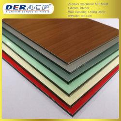 Пвдф огнеупорные алюминиевых композитных панелей лист строительство строительные материалы