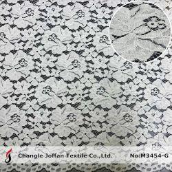 Tessuto Allover del merletto del cotone del cavo del merletto del tricot per l'indumento (M3454-G)