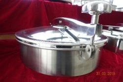 Tipo redondo de acero inoxidable 304 Tanque sanitario Manway