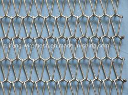 Cinta transportadora la decoración arquitectónica la malla de alambre