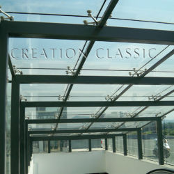Gebouw Laminated Tempered Decorative Construction Safety Glass