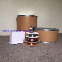 Disco duro de 1,6 mm de diámetro frente a los cables de soldadura con núcleo fundente