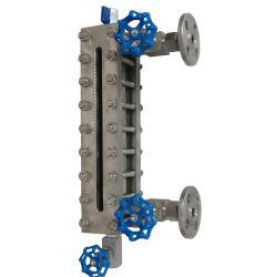 Souder la plaque de verre Custom-Made de haut niveau au voyant de pression pour un réservoir de liquide de jauge