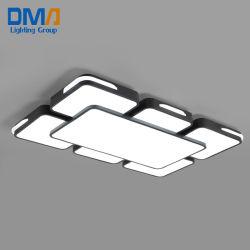 Rectangle LED lampe de plafond Éclairage moderne pour la salle de séjour