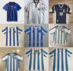 Аргентина Национальная футбольная команда World-Cup Мужчины Женщины молодежи откат футбольные футболки на футболках nikeid футбол