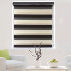 Gekennzeichneter Tagesnachtduo-Schicht-RolleZebra macht Vorhang für Hauptdekor blind
