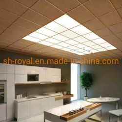 600*600 tecto LED das luzes do painel/Pequenas redondas ou Pequena Praça 18W