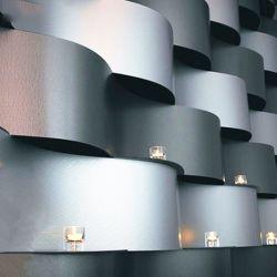 3D rolo para revestimento de parede exterior do material de decoração do painel de alumínio