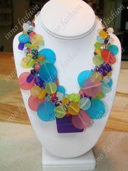 La resina de moda collar (INNO-N-0107-4)