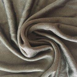 100 en pure soie Tissu jersey 75GSM double textiles tricotés