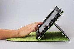 Lederner Fall-Beutel für iPad (CS-iPad1001)