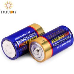 Il telecomando Non-Rechargeable 2020 dell'accumulatore alcalino di formato Lr20 1.5V della batteria a secco D del rifornimento della fabbrica libera il Mercury