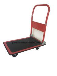 Petit chariot plate-forme de pliage panier Chariot Entrepôt mobile Dolly Bagages