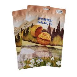 Customed folha de alumínio Ziplock embalagens de alimentos Saco Bolsa Pouch para Snack-Leite em pó desnatado Cookies sobremesa Nata corajoso