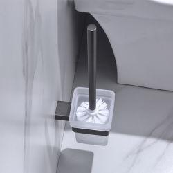 Bain de luxe matériel noir mat ensemble brosse WC titulaire