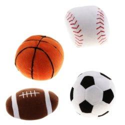 Factory sale Soft Stuffed Baseball Basket Rugby Calcio Sport Gioco giocattolo a palla per bambini
