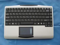 タッチパッドが付いている大型2.4G RFの無線キーボード、ノートのキーボードK9の細いキーボード