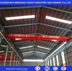 Atelier avec palan électrique Eot grue de pont de frais généraux de matériaux de fabrication de matériel de levage