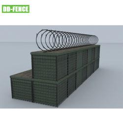Med Mesh Gabion سهولة التركيب السكن Bunker Design للعسكريين استخدم /فيضان Line استخدم النوع ب