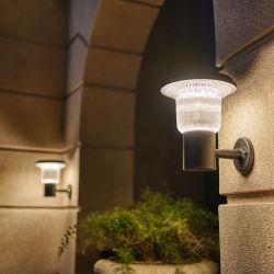 الجملة مقاومة للمياه زهرة في الهواء الطلق الجدار مقاومة للمياه منخفضة الجهد بقعة موقعة مصباح الليل مصابيح LED مصابيح الحديقة الشمسية مصابيح الحائط الشمسية