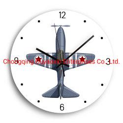 Les avions d'articles Horloge murale Horloge en bois MDF