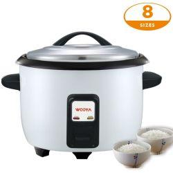 Het elektrische Kooktoestel van de Rijst voor Commercieel Gebruik met de Grote Capaciteit van de Keuken van de Catering de Pot van 10 Liter