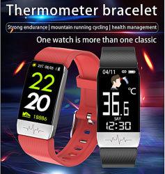 Imperméable IP67 moniteur de fréquence cardiaque Fitness Tracker GPS Bluetooth Smart Watch Anniversaire de la promotion de souvenirs d'entreprise d'entreprise de promotion de cadeaux pour les femmes Kid-01