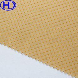 Tessuto antisdrucciolevole/antiscorrimento di cotone della fabbrica del silicone reale all'ingrosso del tessuto