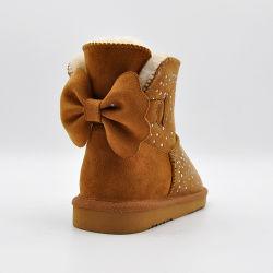Nova chegada 2020 Fashion Senhoras Calçados chinelos verdadeiro Tornozelo do calçado de couro botas de neve no inverno de peles com sapatas das mulheres