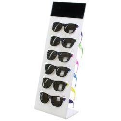 Apagar o contador de acrílico de 6 pares de Exibição de óculos