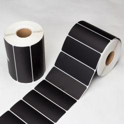 Zelfklevend plaketiket voor de zwarte-kleurenwarmteoverdrachtprinter