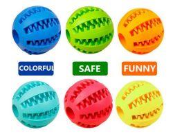 中国の工場卸し売り 6cm の注文のインプリントの高いオンスの中空のゴム おもちゃの球