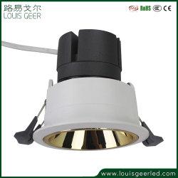 CE RoHS سقف أبيض زخرفي داخلي 5W 7 واط 15 واط ضوء LED لأسفل بقوة 18 واط