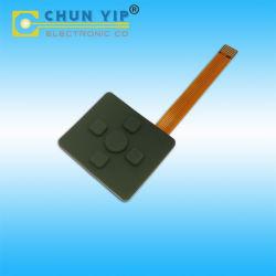 Benutzerdefinierte FPC Flexible Circuit Frame Array Silikon-Membran mit feiner Taktilisierung Tastatur