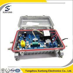 riga amplificatore esterna del cavo CATV del circuito di collegamento 5-862MHz con AGC