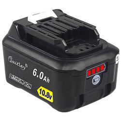 Bl1015 6Ah 10.8 - 12V 전원 도구 리튬 교체 배터리 팩 Makita Drill 배터리 블라1015 194550-6 194551-4