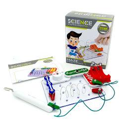 教育茎およびゲームの子供のためのおもちゃをアセンブルする電子ブロック