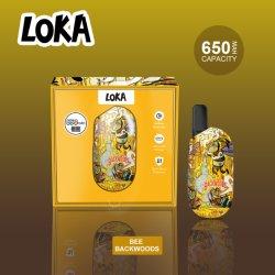 Vaporizzatore 510 Filettatura vendita a caldo, alla moda e redditizia Batteria Loka