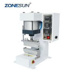 Zonesun Zy-819g автоматической штамповки машин из натуральной кожи с логотипом кузова машины Stamper карты высокой скорости тиснения механизма