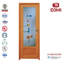 Abono de estilo clássico Bifold madeira contraplacada de luxo aço laminado a frio a proteção embutida contra a porta de roubo