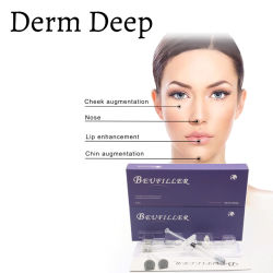 2ml meilleur visage nez cou Chin l'acide hyaluronique injections à lèvre de la Joue de remplissage