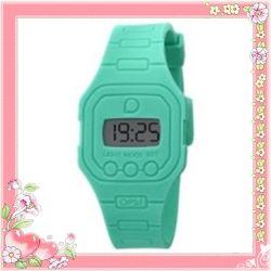Уоп плоские силиконовые цифровые часы (XLK-4)