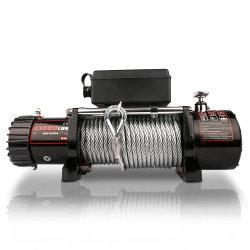 13000lbs malacate eléctrico 12000lbs coche UTV ATV 4X4 off road de la cuerda de acero el malacate