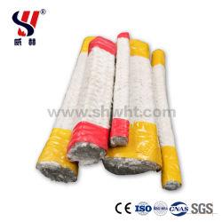 アルミニウムケイ酸塩の絶縁体のセラミックファイバの正方形編みこみのロープのセラミックファイバの織物のガスケット