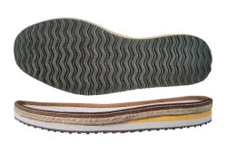 Casual Sole with Hemp Rope for Men's Shoes