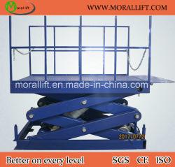 Электрический гидравлический подъемный стол ножничного типа с маркировкой CE